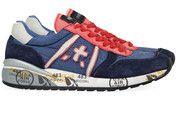 Blauwe Premiata schoenen Diane sneakers