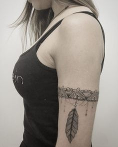 tribal vracelet tattoo