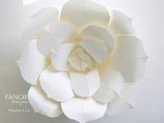 Huge Paper Flowers  Hand Torn French Paper by FancifulDesign, $75.00