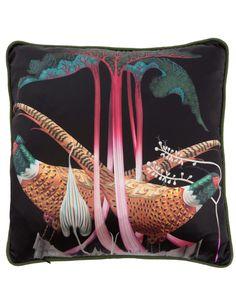 Skandium Pheasant Cushion | Home | Liberty.co.uk