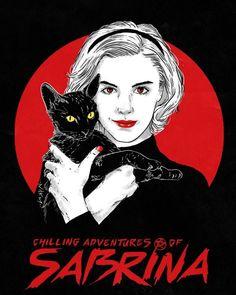 'Sabrina' by Reks Darkart Archie Comics, Witch Drawing, Betty & Veronica, Witch Tattoo, Kiernan Shipka, Sabrina Spellman, Cool Poses, Cute Drawings, Geeks