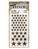 Ranger - Tim Holtz Stencil - Stars - THS008
