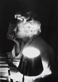 Marilyn Monroe by Sam Shaw in 1957