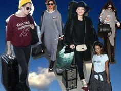 In viaggio con stile: come vestirsi in aereo o in treno. Always chic, never boring! #airplaneoutfit #trainoutfit