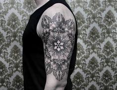 """Chaim Machlev, tatuajes """"de los puntos a las líneas"""" - Cultura Colectiva - Cultura Colectiva"""