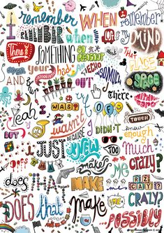 """Draw Me A Song"" Project. Here's a song by Cee-Lo. Really cool stuff. Check out his other song posters too."