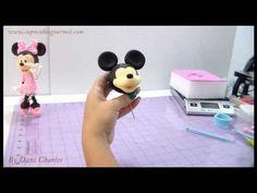 Como modelar a Minnie Mouse passo a passo