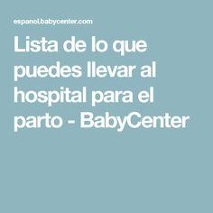 0c8e2d57b Lista de lo que puedes llevar al hospital para el parto