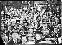 """Norwegians in Chicago celebrating May 17th 1907 """"The Encyclopedia of Chicago"""""""