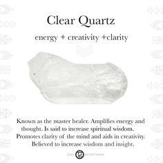 Clear Quartz | Gemstones & Sacred Materials | Tiny Devotions | Mala Beads
