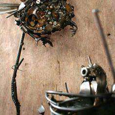 #animal #bird #metal #sculpture