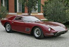 1966 Lamborghini 400 GT Monza #lamborghinivintagecars