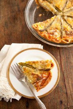 ASPARAGUS QUICHE http://www.pauladeen.com/recipes/recipe_view/asparagus_quiche/