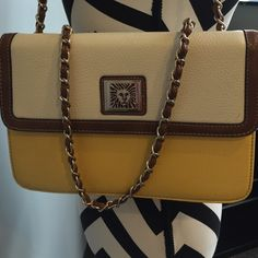 AK Anne Klein handbag Great for spring!!  Perfect size for a day on the town. Beautiful colors. Anne Klein Bags