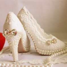 Popular White Lace Shoes-Buy Cheap White Lace Shoes lots from ...