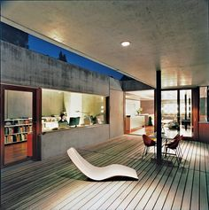 Moinian and Meili Residence in Eglisau, Switzerland / by Felix Oesch (photo by Hertha Hurnaus)