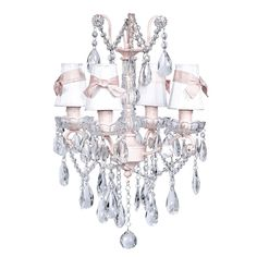 Pink Shabby Chic Chandelier [JB-78006 6502 205] - $497.00 : The Painted Cottage, Vintage Painted Furniture
