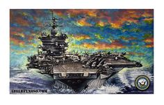"""Super-Carrier"" is my latest painting, please enjoy it!"