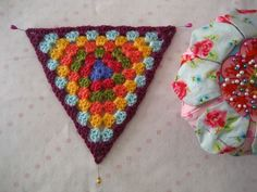 Steam blocking. How to make your crocheted pieces lay flat using an iron with steam!