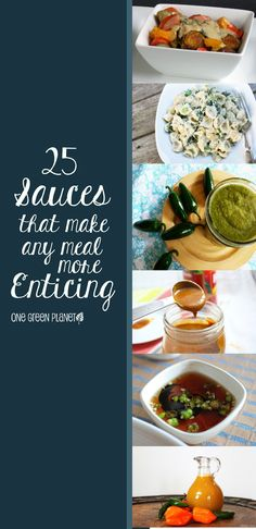 25 Sauces for Everything! There definitely is a Sauce recipe for everything here!