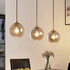 Lampy do pokoju i oświetlenie pokoju   Lampy.pl Dream Home Design, House Design, Glass Ball, Kugel, Hanging Lights, New Homes, Ceiling Lights, Led, Retro
