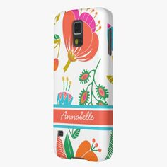 It's cool! This Preppy Hot Pink Turquoise Name Flower Pattern Galaxy S5 Covers is completely customizable and ready to be personalized or purchased as is. Click and check it out!