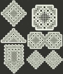 Advanced Embroidery Designs - Hardanger FSL Set
