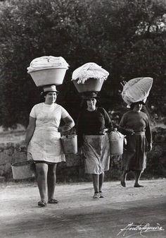 Lavadeiras - vintage Portugal