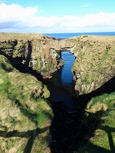 The beautiful and unusual landscape of Orkney, Scotland