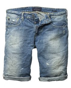 Scotch & Soda stonewashed shorts