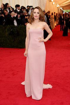 Rachel McAdams Ralph Lauren.Rachel McAdams  La alfombra roja del MET 2014