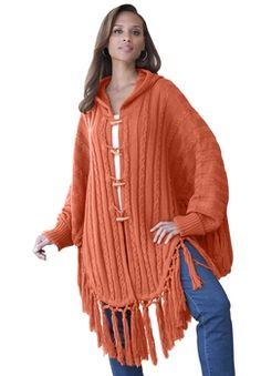 313bdab8900d Hooded Toggle Cape Spice in Final Cut Winter Sale 2012 from Jessica London  on shop.