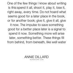 annie dillard essays the chase