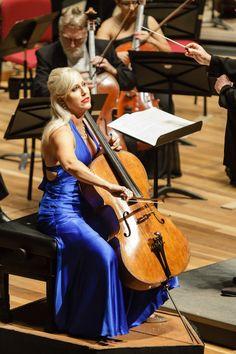 Amanda Fortsyth em concerto com a OSB na Cidade das Artes - 2015 Foto: Cicero Rodrigues