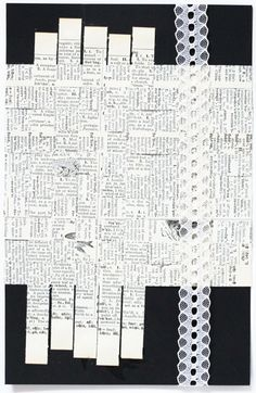 I LVOE IT!!! Woven book pages