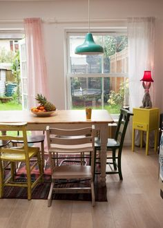 Gigi's Candy-Colored London Cottage — House Tour   Apartment Therapy