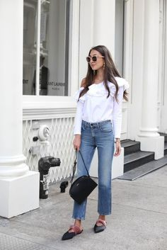 A pair of denim with