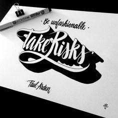 Typography Mania #271 | Abduzeedo Design Inspiration