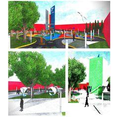 Autor: Luis Moctezuma Obra: Delta #Arquitectura #Urbanismo