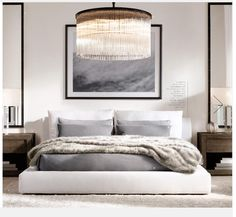 MINIMALISTMINDSET:: This space is simple but has the right elements to make it something special. Make your dream bedroom come true. - Architecture and Home Decor - Bedroom - Bathroom - Kitchen And Living Room Interior Design Decorating Ideas - Modern Bedroom Design, Contemporary Bedroom, Bedroom Designs, Modern Master Bedroom, Master Bedrooms, Modern Interior, Modern Luxury, Minimalist Bedroom, Dream Bedroom