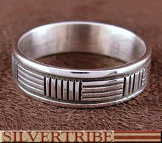 Native American Navajo Sterling Silver Ring DS55726