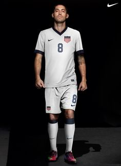 Dempsey. I like the U.S. badge on this year's uniforms for the U.S. Men's football team.