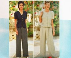 1995 Sewing Pattern Butterick 4004  Top and by Old2NewMemories, $6.25