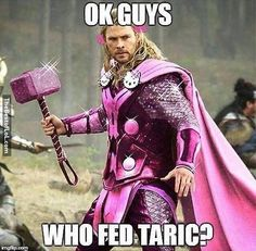 Thor and Taric Mash-up--TOO FUNNY