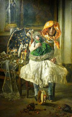 Antonio Mancini ~ Academic painter