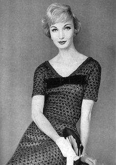Evelyn Tripp for Harper's Bazaar, August 1954