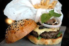 DUDE FOR FOOD: Village Tavern's World of Burgers: Meet The Monte Carlo