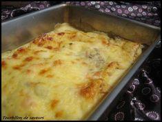 Gratin de crêpes Crepes, Sauce Béchamel, Mashed Potatoes, Macaroni And Cheese, Mozzarella, Ethnic Recipes, Food, Ground Meat, Gratin