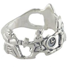 FashionJunkie4Life - Alice in Wonderland Ring - 925 Sterling Silver, $16.99 (http://www.fashionjunkie4life.com/alice-in-wonderland-ring-925-sterling-silver/) Use coupon code PIN10 for 10% off your entire purchase and free shipping worldwide. #aliceinwonderland #alicering #sterlingsilver #sterlingsilverjewelry #silverrings #925silver #silverjewelry #aliceinwonderlandjewelry #whiterabbit #rabbithole #queenofhearts