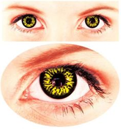 Prescription Colored Contacts Halloween putting colorful halloween contact lens big diameter fruitcolor candy color contact lenses lens prescription lens cosmetic Yellow Colored Contactsthis Is What Im Doing For Halloween